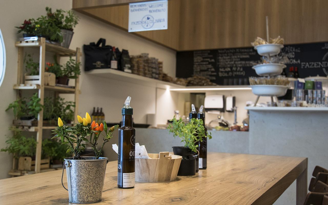 Fazenda Culinária, o café do Museu do Amanhã / Foto: Marcos Tristão