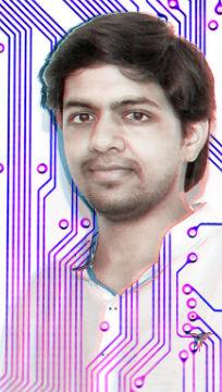 foto de Harshit Agrawal, artista e pesquisador Indiano do LAA