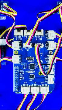 Zoom em placas de circuito / Foto: Antonio Pacheco