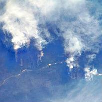 Rio Xingu / Crédito: Nasa