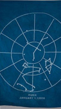 Deep Future: celestial charts for the next 100 thousand years
