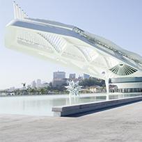 A arquitetura de Santiago Calatrava: nova cara para o Píer Mauá / Foto: Byron Prujansky
