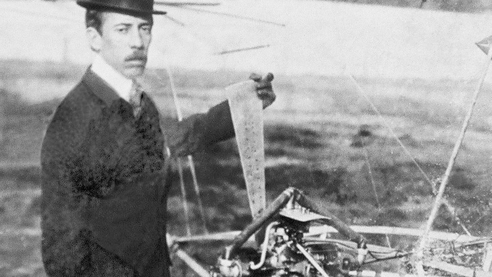 Santos Dumont: força inventora do brasileiro é o tema da exposição no Museu / Foto: Domínio Público