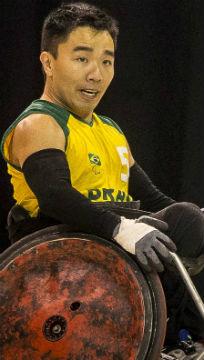 Alexandre Taniguchi, atleta paralímpico do rúbgbi / Foto: Fernando Maia/MPIX/CPB