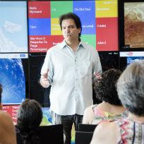 Curador do Museu do Amanhã, Luiz Alberto Oliveira faz palestra ao público do Museu