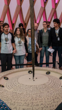 Educadores se reunem no Museu do Amanhã / Foto: Divulgação Museu do Amanhã