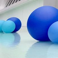 Instalação da artista Suzana Queiroga / Foto: Raquel Novaes - Museu do Amanhã