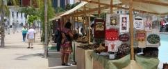 Feira com cardápio variado, que reúne nos jardins do Museu do Amanhã produtores de alimentos, artesanato, e diversas ações culturais
