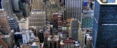 Cidade vista de cima / Foto: Chris Isherwood