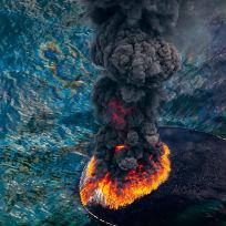 Desastre no Golfo do México, em 2010 / Foto: Daniel Beltra